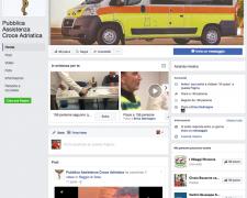 social facebook croce adriatica misano rimini